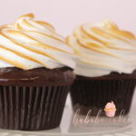 S'mores Cupcake: Graham cracker Chocolate Cake, topped chocolate and marshmallow.     Dozen: $44/dz